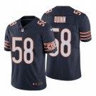 Chicago Bears #58 Robert Quinn Navy Vapor Limited Football Jersey for Men Stitched
