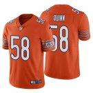 Chicago Bears #58 Robert Quinn Orange Vapor Limited Football Jersey for Men Stitched