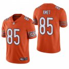 Chicago Bears #85 Cole Kmet Orange Vapor Limited Football Jersey for Men Stitched