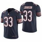 Chicago Bears #33 Jaylon Johnson Navy Vapor Limited Football Jersey for Men Stitched