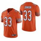Chicago Bears #33 Jaylon Johnson Orange Vapor Limited Football Jersey for Men Stitched
