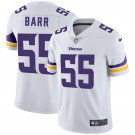 Minnesota Vikings #55 Anthony Barr White Vapor Limited Football Jersey for Men Stitched