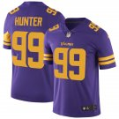 Minnesota Vikings #99 Danielle Hunter Purple Color Rush Football Jersey for Men Stitched