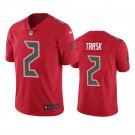 Tampa Bay Buccaneers #2 Kyle Trask Red Color Rush Limited Football Jersey for Men Stitched