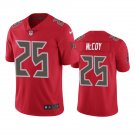 Tampa Bay Buccaneers #25 Lesean Mccoy Red Color Rush Limited Football Jersey for Men Stitched