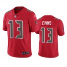 Tampa Bay Buccaneers #13 Mike Evans Red Color Rush Limited Football Jersey for Men Stitched