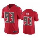 Tampa Bay Buccaneers #93 Ndamukong Suh Red Color Rush Limited Football Jersey for Men Stitched