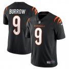 Cincinnati Bengals #9 Joe Burrow 2021 Black Vapor Limited Football Jersey for Men Stitched