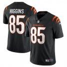Cincinnati Bengals #85 Tee Higgins 2021 Black Vapor Limited Football Jersey for Men Stitched