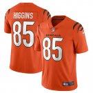 Cincinnati Bengals #85 Tee Higgins 2021 Orange Vapor Limited Football Jersey for Men Stitched