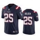 New England Patriots Brandon Bolden Navy Vapor Limited Stitched Jersey For Men