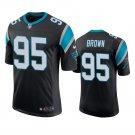 Derrick Brown Carolina Panthers Black Vapor Limited Stitched Jersey For Men
