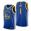 Damion Lee Golden State Warriors Royal Icon 75th Anniversary Diamond Stitched Jersey 2022 For Men