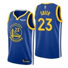 Draymond Green Golden State Warriors Royal Icon 75th Anniversary Diamond Stitched Jersey For Men
