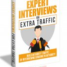 Expert Interviews For Extra Traffic | E-Book Download