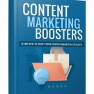 Content Marketing Boosters | E-Book Download