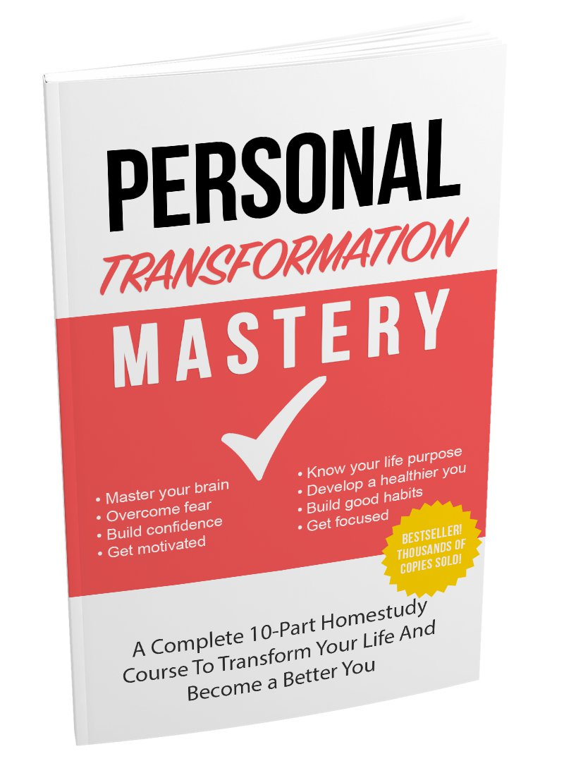 Personal Transformation Mastery | LIMITED | PDF Download (+ Resell Rights)