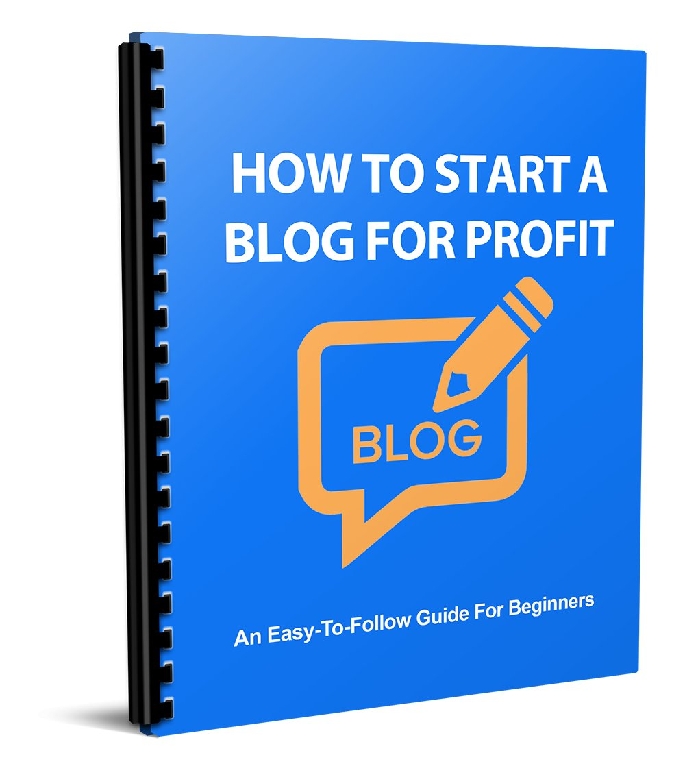 How To Start a Blog For Profit | LIMITED | PDF Download (+ Resell Rights)