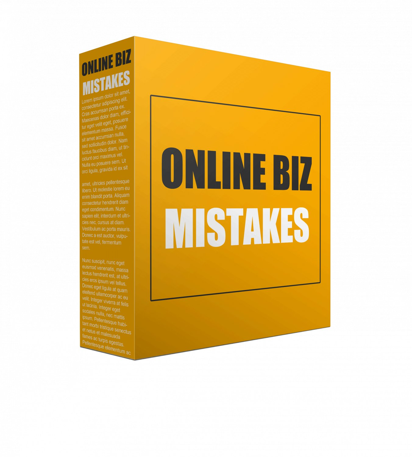 Online Biz Mistakes | LIMITED | PDF Download (+ Resell Rights)