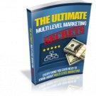 Ultimate Multi Level Marketing Secrets | E-Book Download
