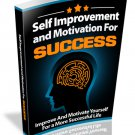 Self Improvement and Motivation for Success | E-Book Download