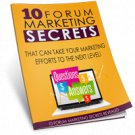 Forum Marketing Mastery 101 | E-Book Download