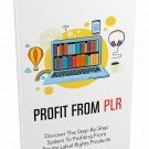 Profit From PLR | LIMITED | PDF Download (+ Resell Rights)