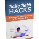 Daily Habit Hacks | E-Book Download