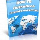 Outsource Internet Marketing | E-Book Download