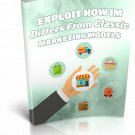 Exploit How IM Differs From Classic Marketing Models | E-Book Download