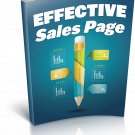 Effective Sales Page | E-Book Download