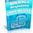 Building A Responsive Mailing List | E-Book Download