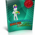 Breakthrough Sales Solutions | E-Book Download