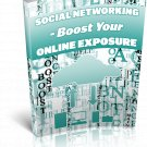Social Networking Boost Your Online Exposure | E-Book Download