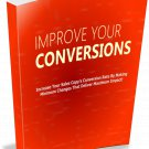 Improve Your Conversions | E-Book Download