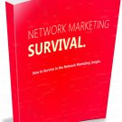 Network Marketing Survival | E-Book Download