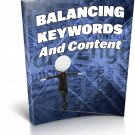 Balancing Keywords And Content | E-Book Download