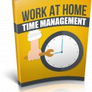 Work At Home Time Management | E-Book Download