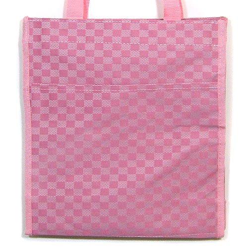 Pink & Fushia Checker Tote Purse