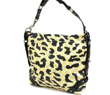 Cheetah Designed Leather look HANDBAG