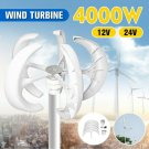 wind turbine 4000W 12/24V generator charger electricity Mobil home. Free energy