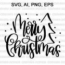Merry Christmas svg, Christmas SVG, Merry Christmas svg, christmas tree svg