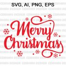 Christmas SVG, Merry Christmas SVG, Merry Christmas Saying Svg, Christmas Clip Art