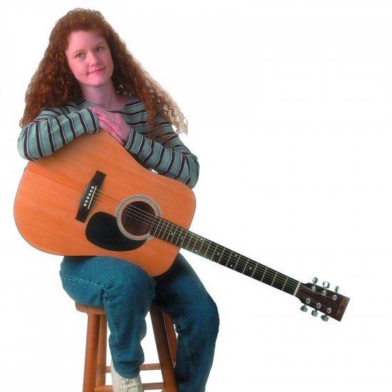 "Maxam 41"" Acoustic Guitar"