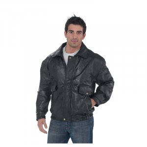 NAPOLINE ROMAN ROCK DESIGN GENUINE LEATHER JACKET ~ SIZE LARGE