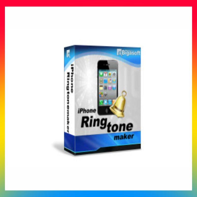 License Bigasoft iPhone Ringtone Maker Pro Lifetime