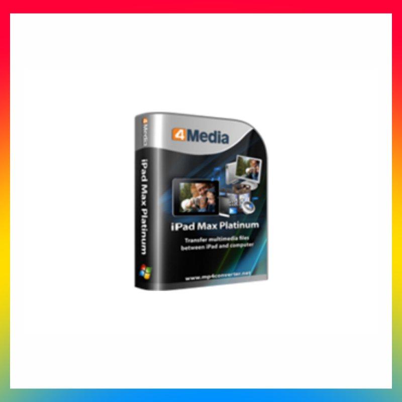 License 4Media - iPad Max Platinum 5.7 Pro Lifetime