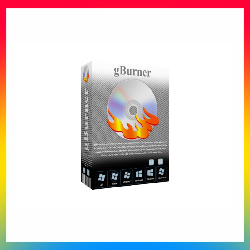 License gBurner Burning 2021 Pro Lifetime
