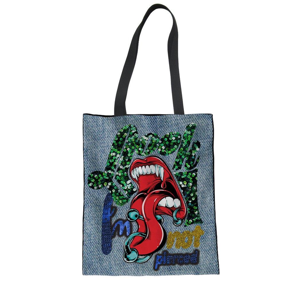 Custom Canvas Shoulder Bag With Your Design