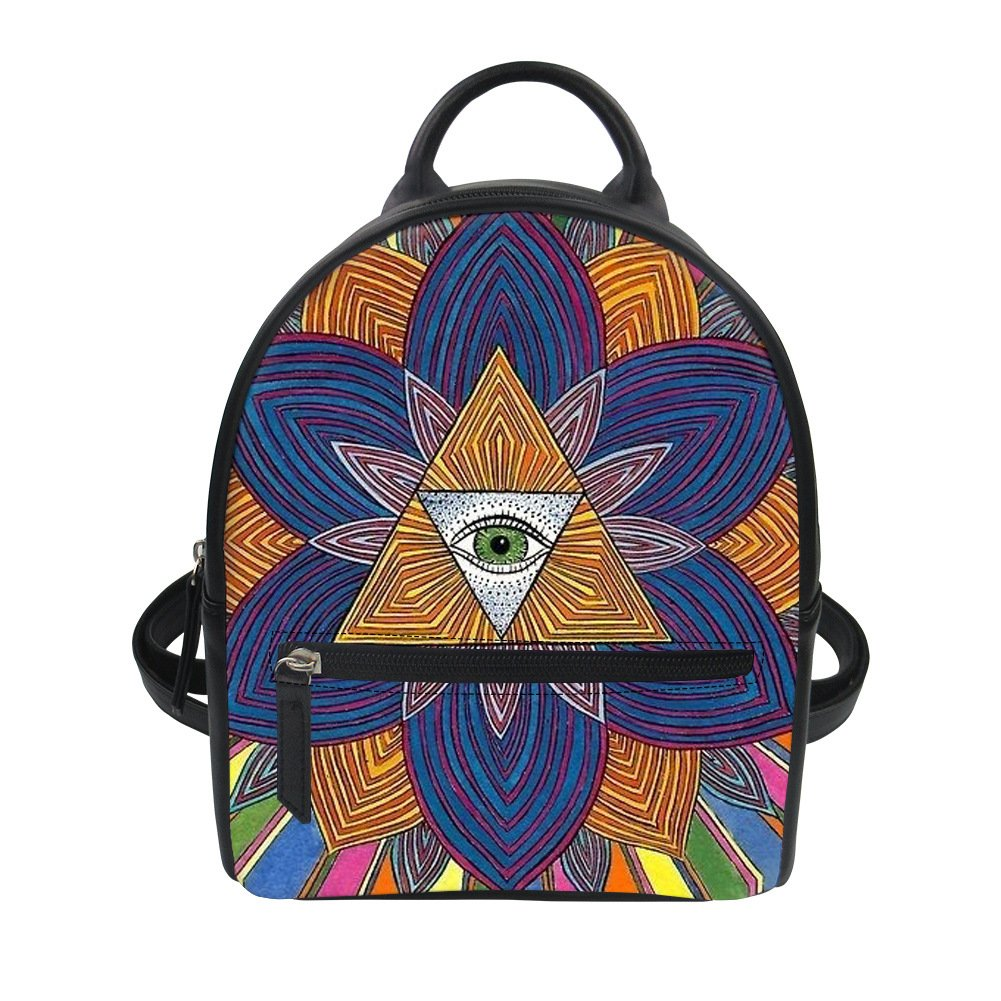Custom Canvas Medium Backbag With Your Design